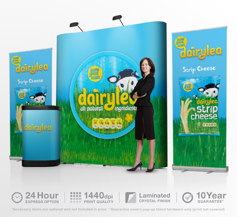 exhibition pop up stands