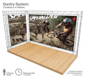 Arena 4 Gantry System