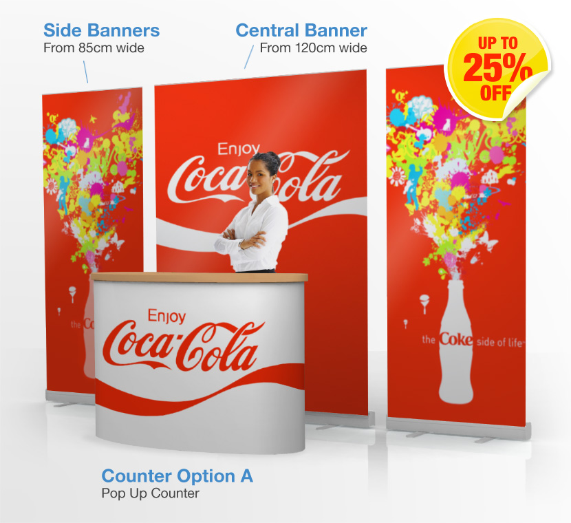 Marketing Exhibition Stand Up : Marketing stands portable displays banner uk