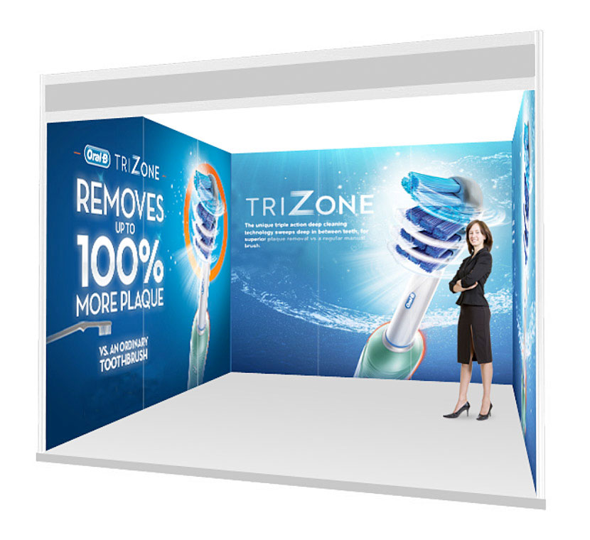 Exhibition Booth Banner : Trade show booth graphics banner stands uk