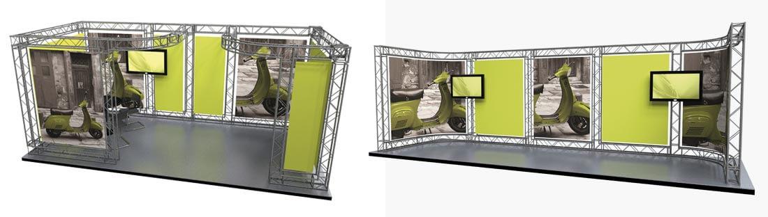 exhibition banner stand