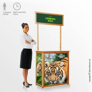 bamboo promotional counter