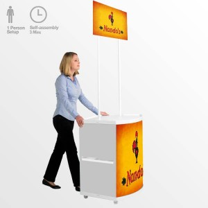 promotional exhibition counters