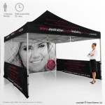 Promotional marketing tent