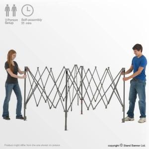 assemble promotional tent