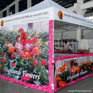 branded event tent