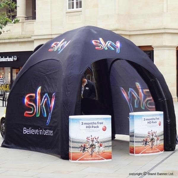 Shop Advertising Tents UK | Advertising