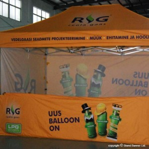 marketing trade fair tent