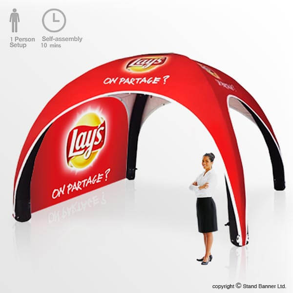 Exhibition Stand Banner Design : Promotional tents branding advertising stand banner