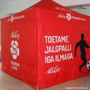 promotional branded tent