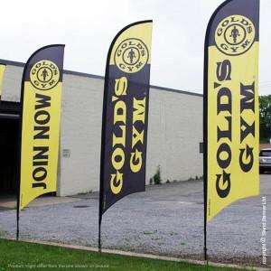 promotional flag banner