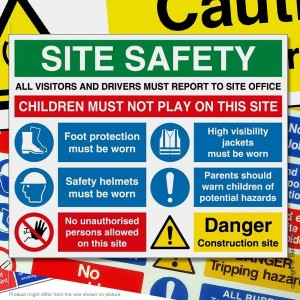 Health & Safety Signs & Stickers