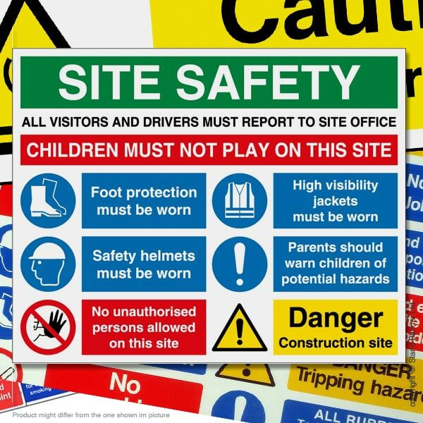 Exhibition Stand University : Health safety signs coshh port talbot swansea stand