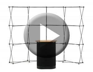pop up stands instructional video