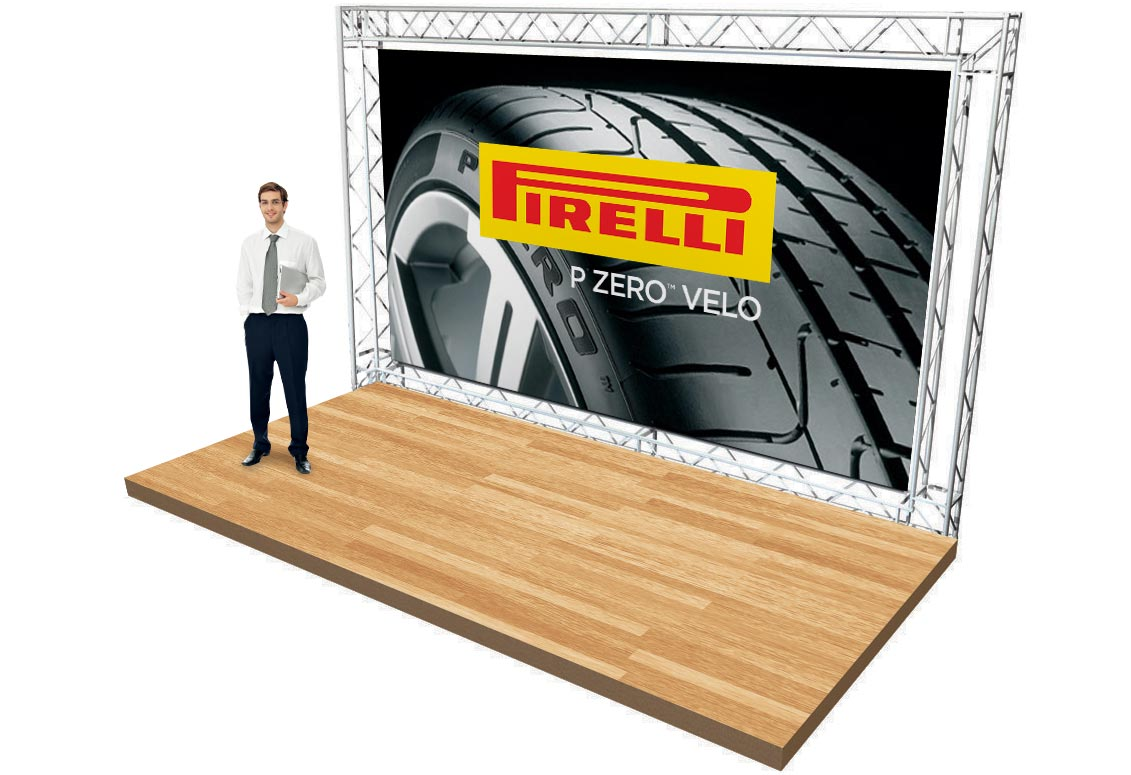 trade show banner wall backdrops