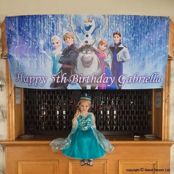 Custom Birthday Banner Printing Company