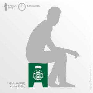 Branded Cardboard Seating
