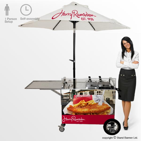 Mobile Frying Cart