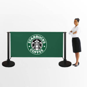 Printed Cafe Banners