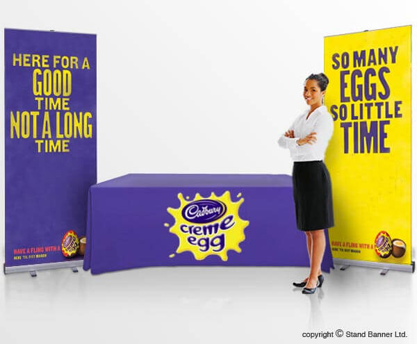 promotional stand