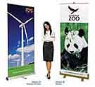 eco banner stands