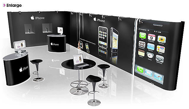 Simple Exhibition Stand Year : Pop up display stands exhibition hour