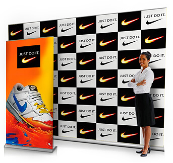 3 metre banner stand