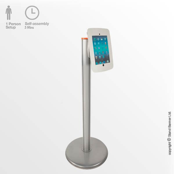 Designer IPad Stand, Free Standing Tablet Display Holder