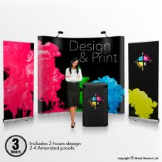 Pop Up Stand Design Print Package