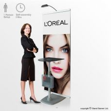Marketing Display Stand Banner