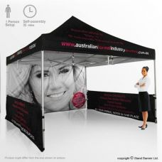 Branded Marketing Tent