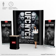 3 Metre Tall Pop Up Stands