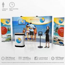 3x5 pop up stands