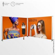 6 Metre Wide Exhibition Banner