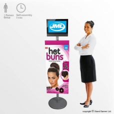 Audio Visual Graphic Stand