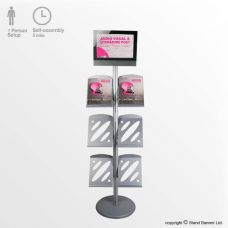 Exhibition Literature Stand : Exhibition accessories event products & stand extras