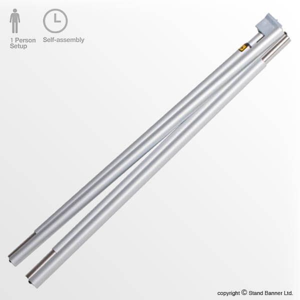 Banner Stand Pole 14mm Replacement Part Stand Banner