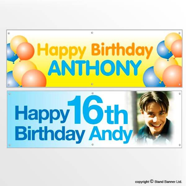 Custom Printed Birthday Banners, Cheap Banners For Birthdays