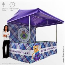 Portable Branded Food Sales Sampling Stall