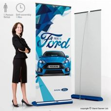 Deluxe Custom Roll Up Banner Stand Display