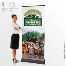Environmental Banner Stand Display
