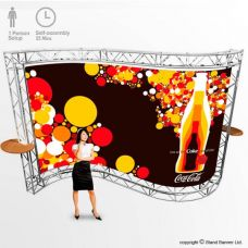 Exhibition Stand Banner Backdrop