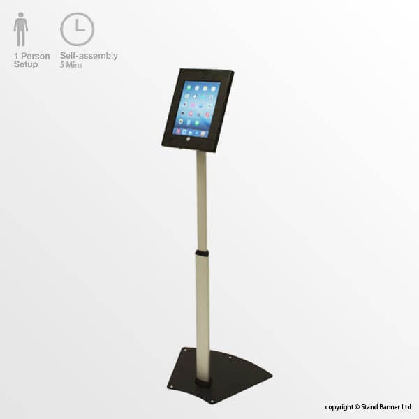 Locking iPad Stand