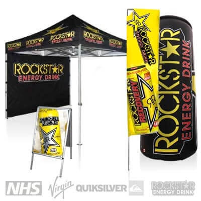 Outdoor Advertising Stands