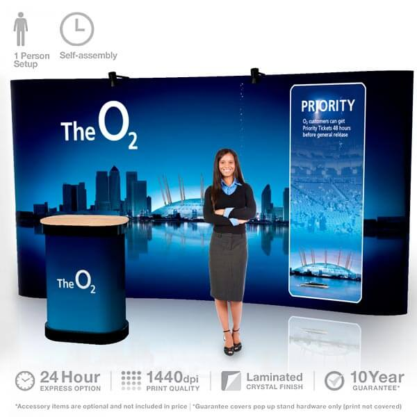 Pop Up Display 4m x 3m