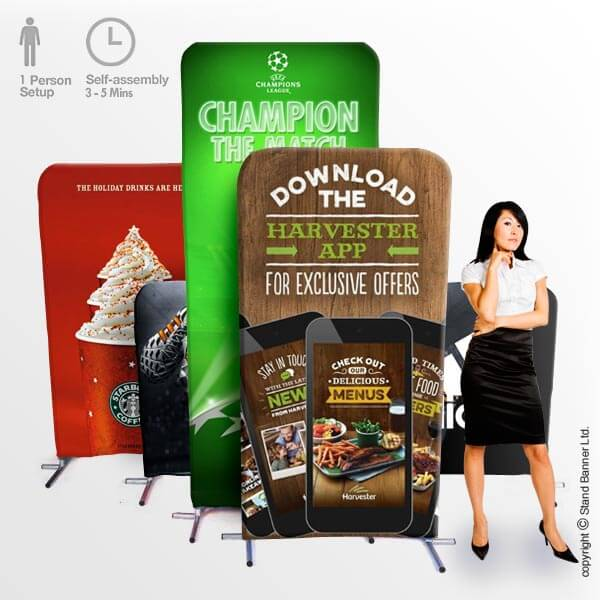 Pop Up Stand Up Banner