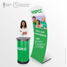 Portable Charity Display