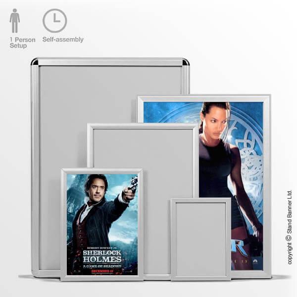 Poster Clip Frames A4, A3, A2, A1, Wall Advertising
