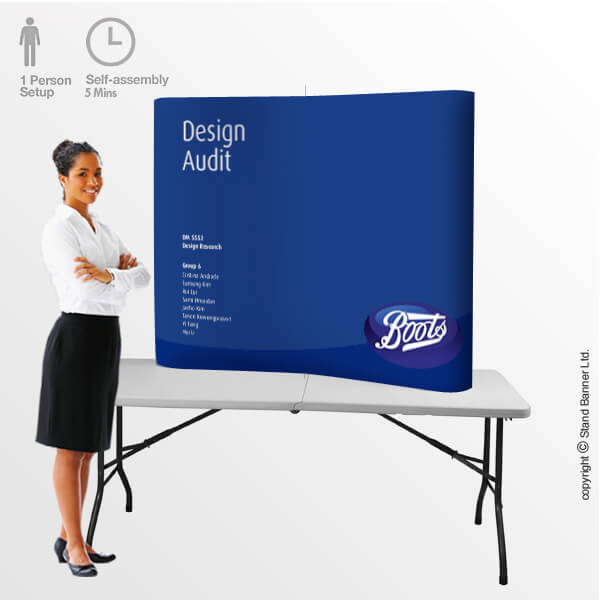 Presentation Display Pop Up
