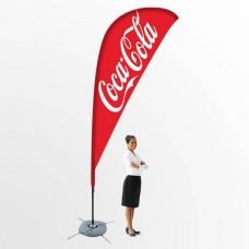 Promotional Event Flag Banner